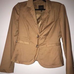 Limited Collection Camel Suit Jacket Size 2